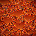 A Sea of Hearts Print by Gianfranco Weiss