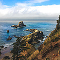 A View From Ecola State Park Print by Robert Bales