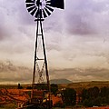 A WINDMILL AND WAGON  Poster by Jeff  Swan