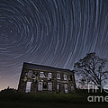 Abandoned History Star Trails Poster by Michael Ver Sprill