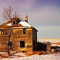 ABANDONED HOUSE Print by Jeff  Swan