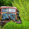 Abandoned Truck in Rural Michigan Poster by Adam Romanowicz