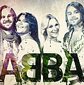Abba Poster by Aged Pixel