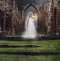 Abbey Ghost Print by Christopher and Amanda Elwell