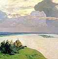 Above The Eternal Peace Print by Isaak Ilyich Levitan