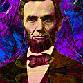 Abraham Lincoln 2014020502m118 Print by Wingsdomain Art and Photography