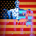 Abraham Lincoln - Freedom by Wingsdomain Art and Photography