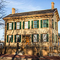 Abraham Lincoln Home in Springfield Illinois Print by Paul Velgos
