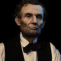 Abraham Lincoln Portrait Print by Ray Downing