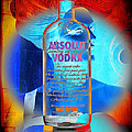 Absolut Psychedelic Print by Chuck Staley
