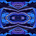 Abstract 175 Print by J D Owen