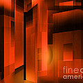 Abstract 500 Print by John Krakora