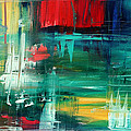 Abstract Art Colorful Original Painting BOLD and BEAUTIFUL by MADART Poster by Megan Duncanson