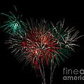 Abstract Fireworks Poster by Robert Bales