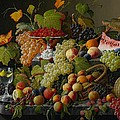 Abundant Fruit Poster by Severin Roesen