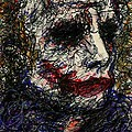 ACEO Joker I by Rachel Scott