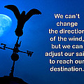 Adjust Our Sails Print by Mike Flynn