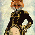 Admiral Fox Full Print by Kelly McLaughlan