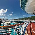 Adventure of the Seas Jogging Track Poster by Amy Cicconi