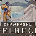 Advertisement for Champagne Delbeck Poster by Louis Chalon