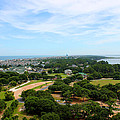 Aerial View of Corolla North Carolina Outer Banks OBX Print by Design Turnpike
