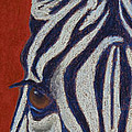 African Stripes Print by Tracy L Teeter