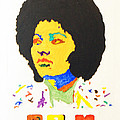 Afro Pam Grier Poster by Stormm Bradshaw