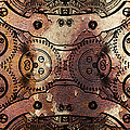 Age Of The Machine 20130605rust long Poster by Wingsdomain Art and Photography