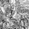 Agony in the Garden from the 'Great Passion' series Print by Albrecht Duerer