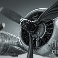 Airplane Propeller - 02 Print by Gregory Dyer