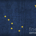 Alaska state flag Print by Pixel Chimp