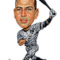 Alex Rodriguez Poster by Art