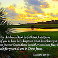 All One in Christ Jesus Print by Sheri McLeroy