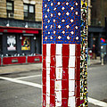 American Flag Tiles Poster by Garry Gay