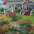 American Garden Print by Sharon Will