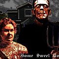 American Gothic Resurrection Home Sweet Home 20130715 Poster by Wingsdomain Art and Photography