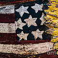 Americana - Stars and Stripes Print by Dean Harte
