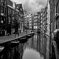 Amsterdam Canal Print by Heather Applegate
