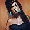 Amy Winehouse Poster by Paul  Meijering