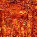 An autumn abstraction by Michael Kulick