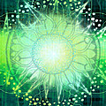 Anahata - Chakra 4 Poster by Christine Louise Bryant