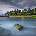 Anchor of the sea at Koolina Print by Tin Lung Chao