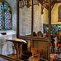 Ancient Chapel 2 Print by Adrian Evans