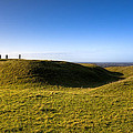 Ancient Hill of Tara in the Winter Sun Print by Mark Tisdale