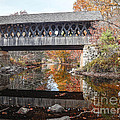 Andover Covered Bridge Print by Edward Fielding