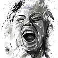 anger Print by Balazs Solti
