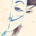 Anonymous against ACTA Print by Beatrice Murch