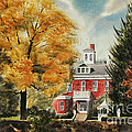 Antebellum Autumn Ironton Missouri Poster by Kip DeVore