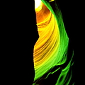 Antelope Canyon Abstract Print by Aidan Moran
