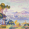 Antibes Afternoon Print by Henri Edmond Cross